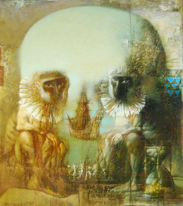 armen gasparian 1966 symbolist painter tuttart