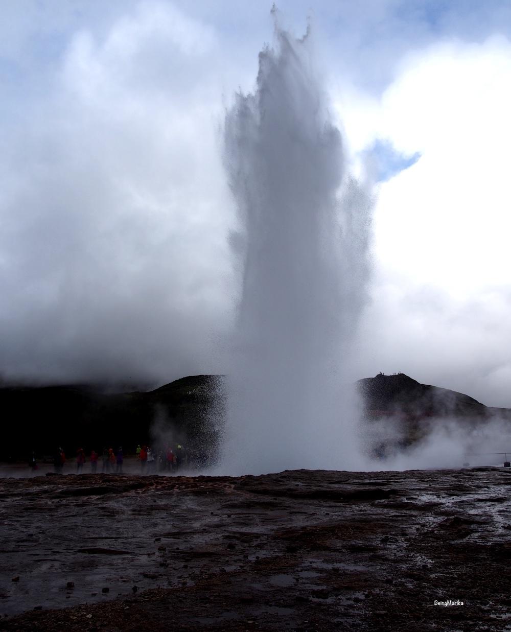 Geysir Strokkus Islanti Iceland