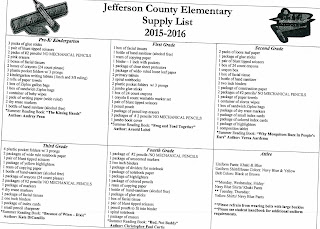 JEFFERSON CO. LIBRARY____________: Back to School Time