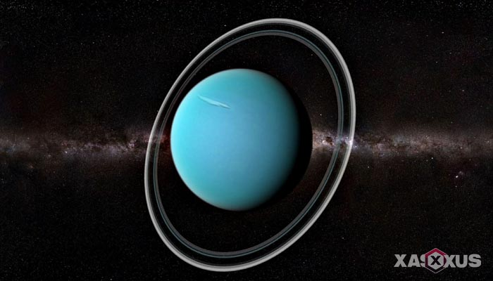 Gambar planet uranus - urutan planet ke-7