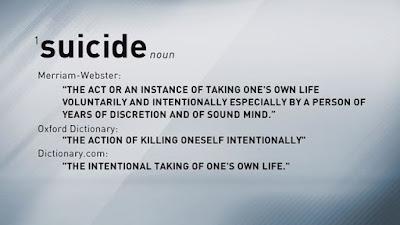 Suicide Unforgivable Sin