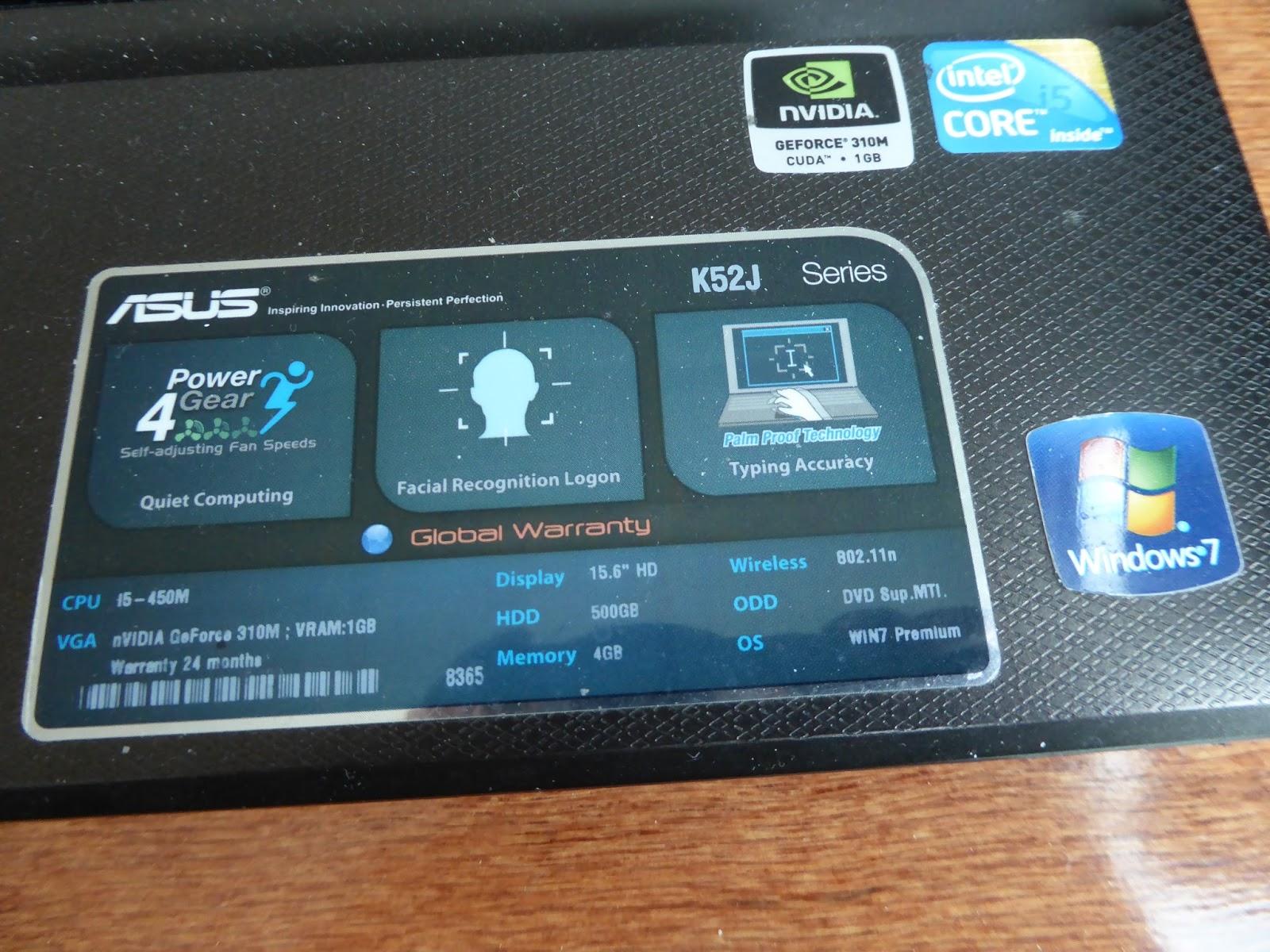 Asus K52J華碩K52J筆電更換SSD