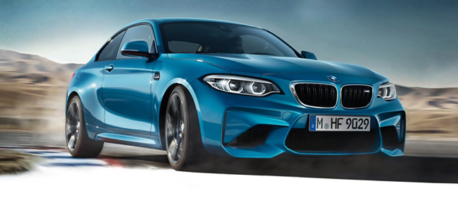 2018 BMW M2 Facelift New LED Headlights