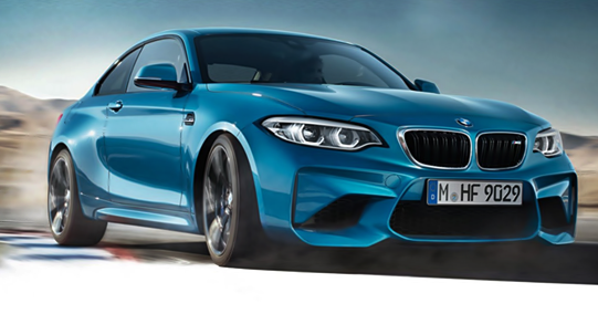 2018 BMW M2 Facelift New LED Headlights - BMW Redesign
