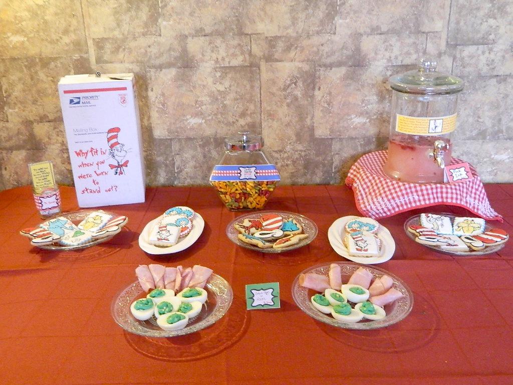 Dr Seuss Themed Birthday Party Ideas