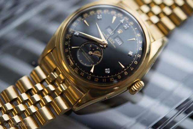 Đồng hồ Rolex của vua Bảo Đại được bán với giá 5 triệu USD