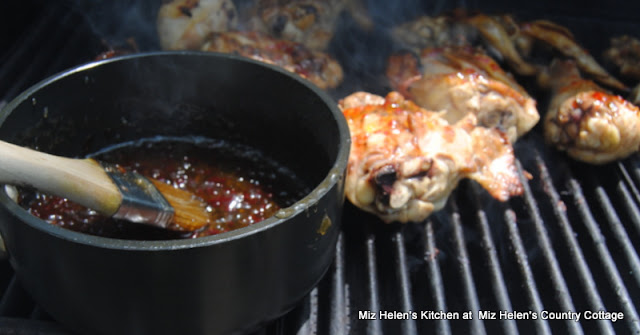 Grilled Pepper Jelly Chicken at Miz Helen's Country Cottage