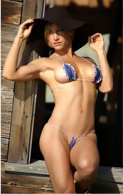 Danielle derek blue micro bikini anal 3