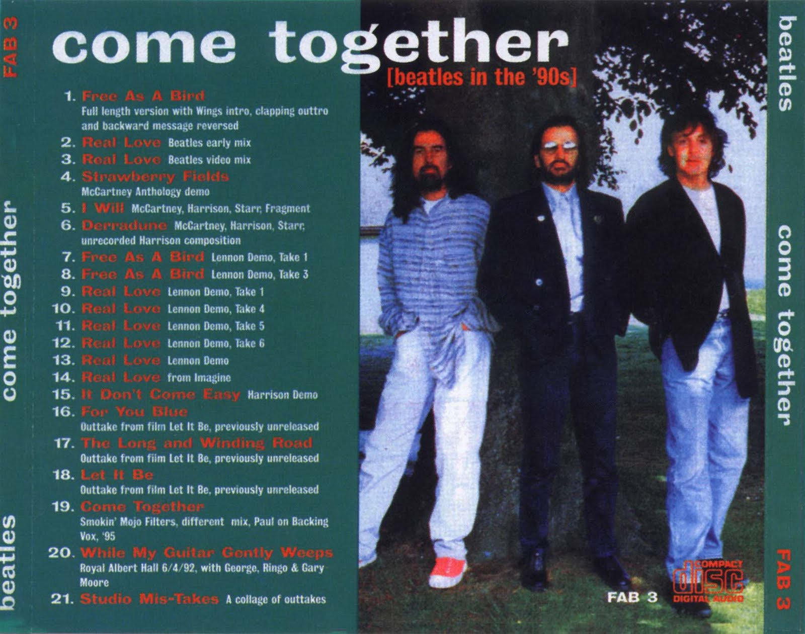 The Be・・・・: Come Together (Beatles In The '90s) - The Beatles