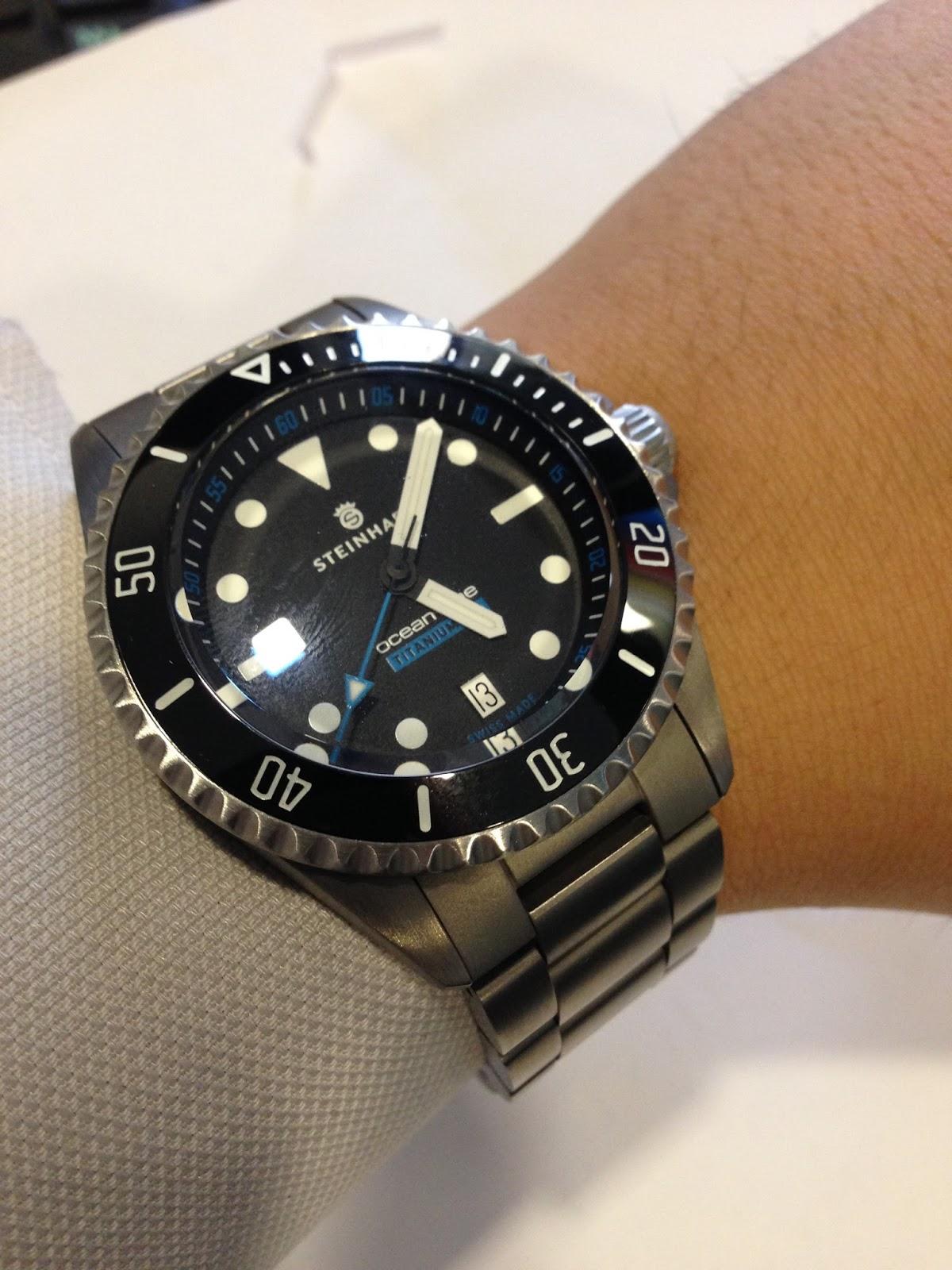 My Western Watch Collection Steinhart Ocean One Titanium
