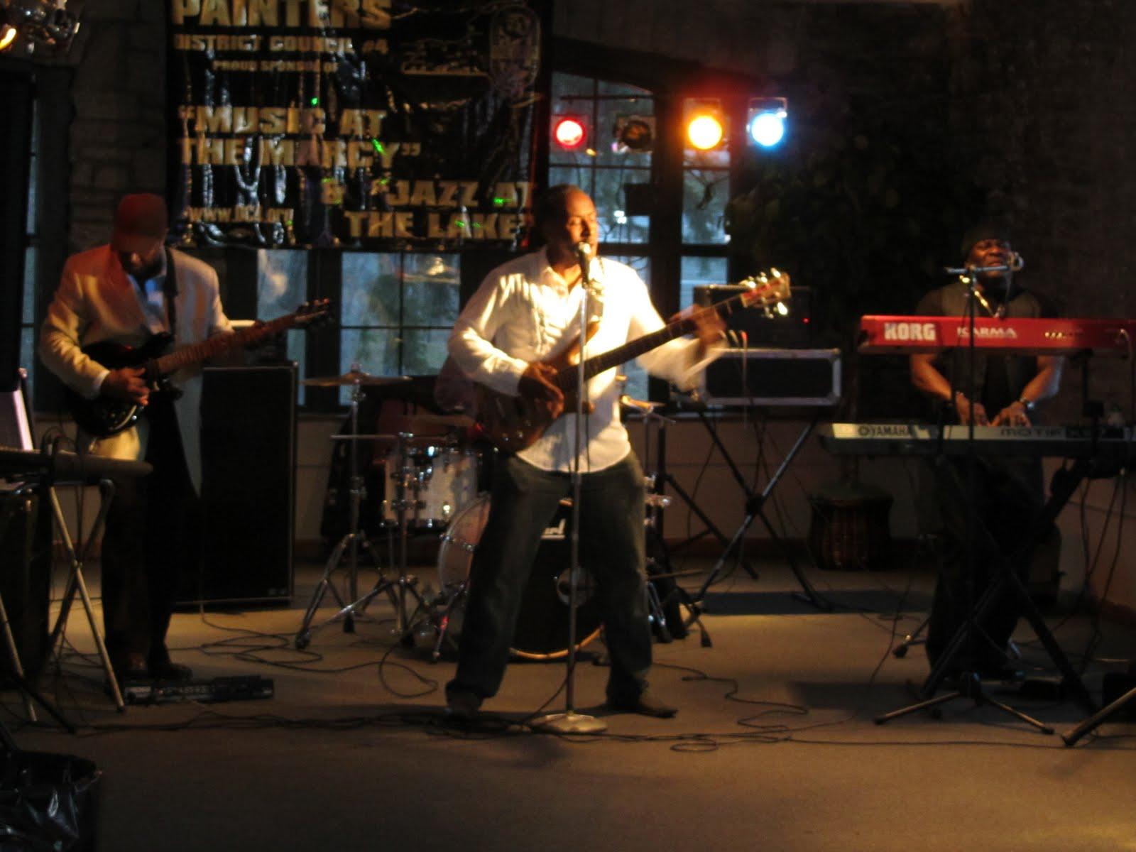 "The ""All Star Band"" features Wade Hawkins (Keys), Kenny Hawkins ..."