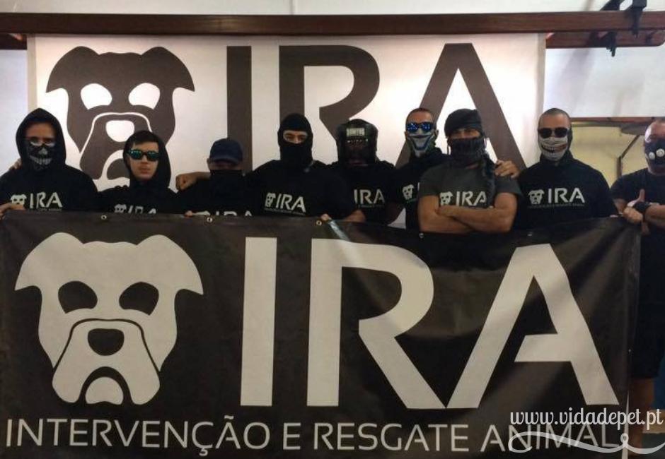 IRA + grupo de intervenção e resgate de animais + blogue português de animais de estimação + vida de pet + pedro e telma