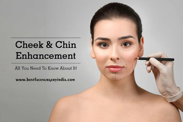 Chin Augmentation in Delhi | Cheek Augmentation in India