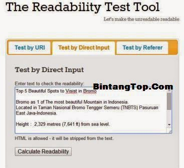 Cara test Tulisan Bahasa Inggrismu Mudah Dipahami atau Tidak – Writing Readability Test