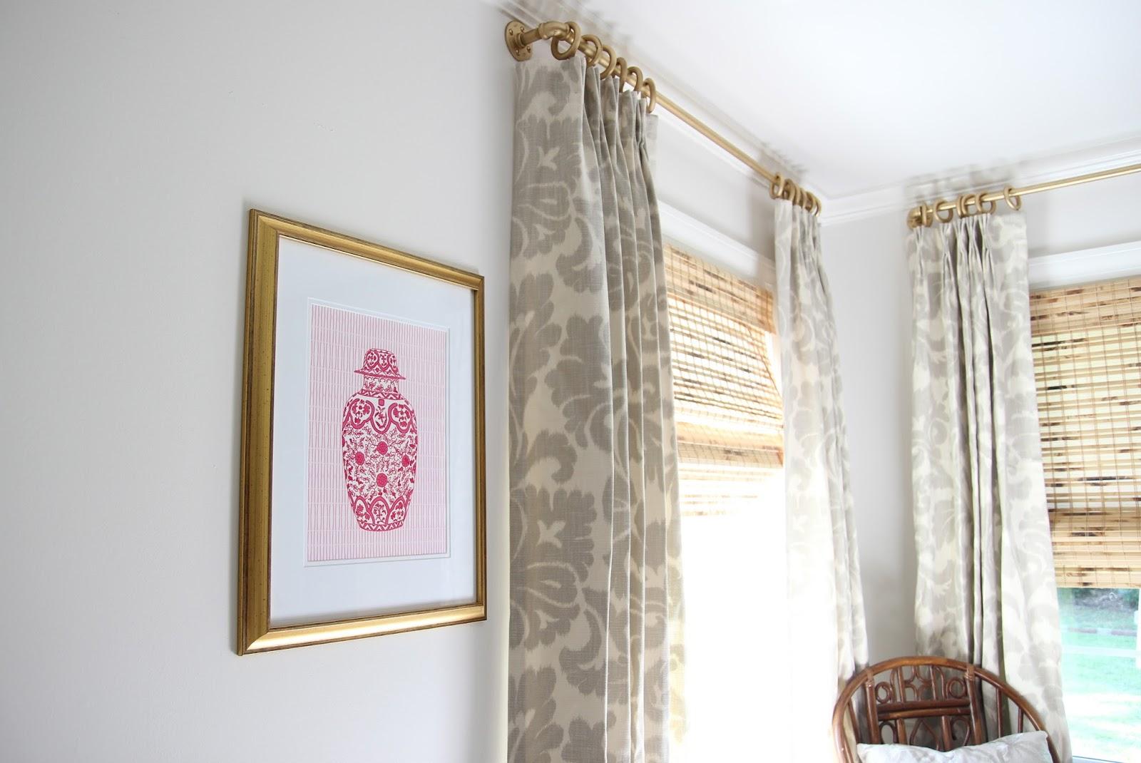 Rustic Master Bedroom Ideas Miss Dixie Diy Industrial Gold Curtain Rod Hemming Drapes