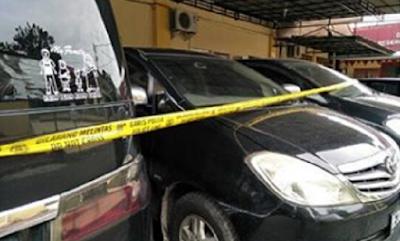 Berikut Data dan Foto Delapan Mobil Yang Disita Ditreskrimum Polda Lampung