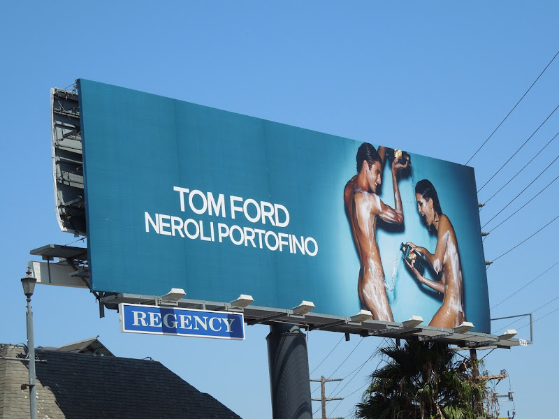 Tom Ford Neroli Portofino billboard