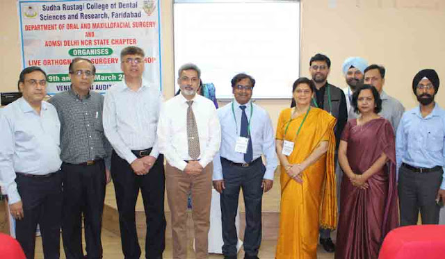 Orthopedic Surgery Workshop at Sudha Rustagi College of Detole and Research Center, Faridabad
