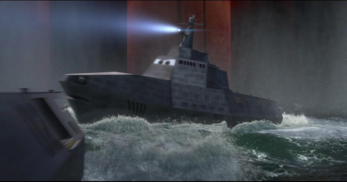 Dan The Pixar Fan Cars 2 Combat Ship