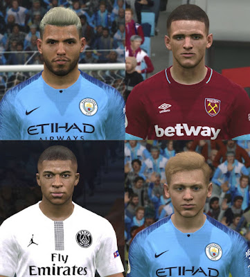 PES 2017 Facepack February 2019 by ABW_FaceEdit