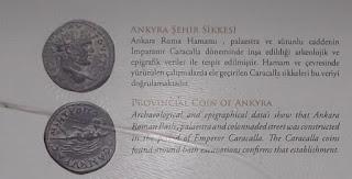 Roma Hamamı Kazılarında çıkan sikkeler paralar
