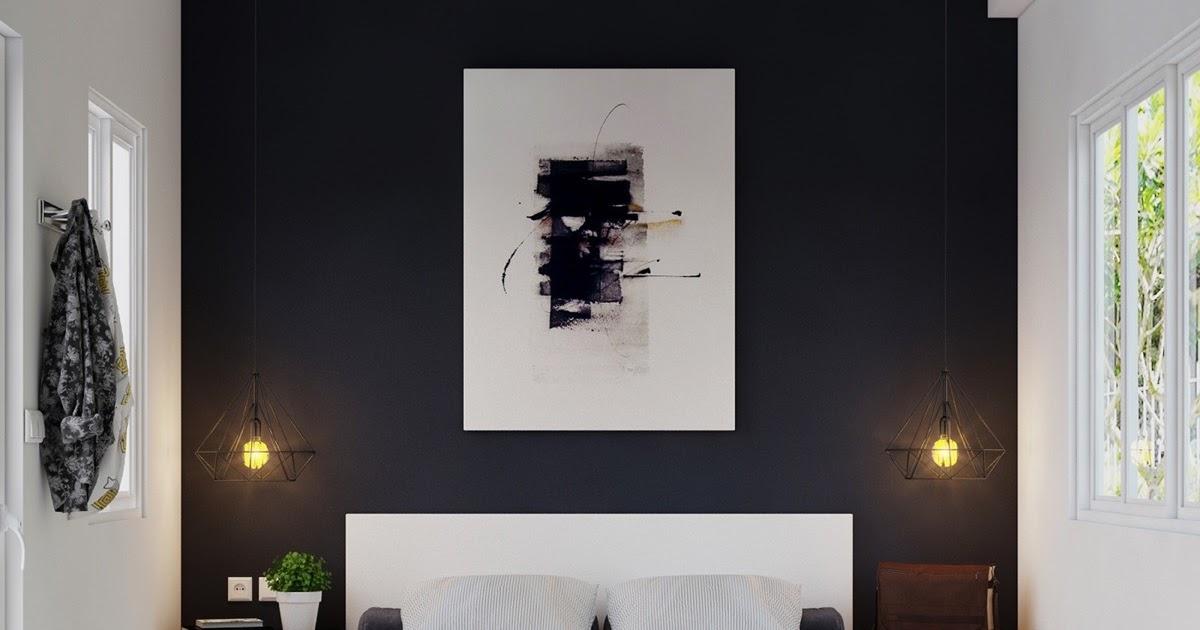 kamar cowok warna hitam 20 desain kamar aesthetic cowok
