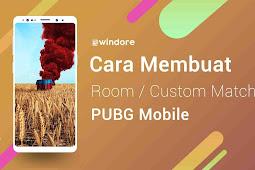 Cara Membuat Room Baru PUBG Mobile