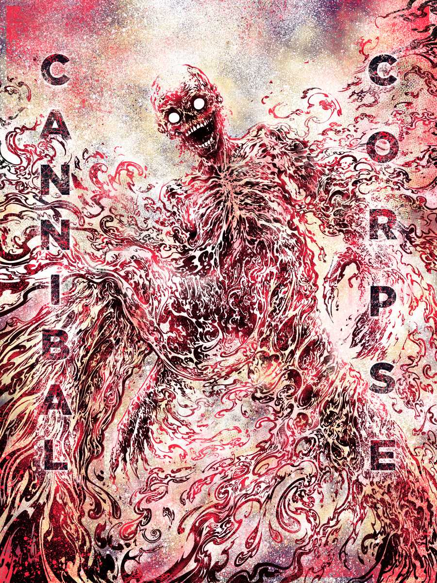 Cannibal Corpse (art by Miles Tsang)