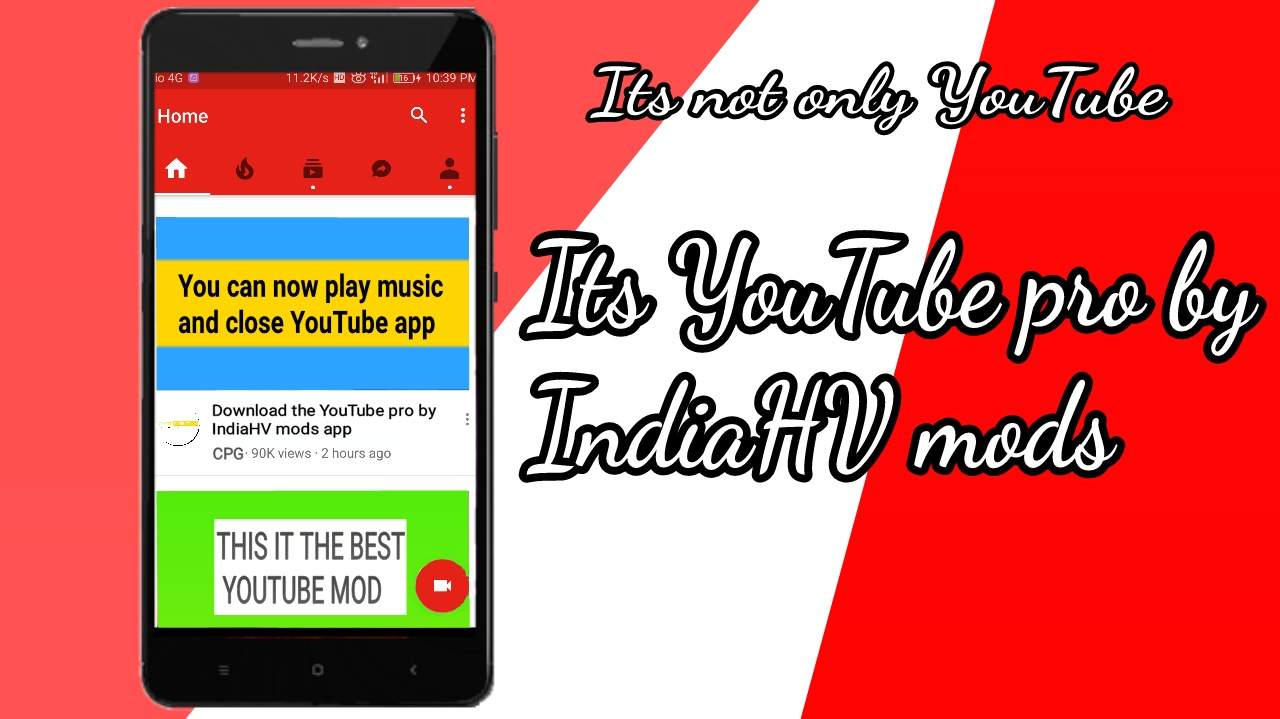 GAME CRAFT: Play music and close YouTube app solution