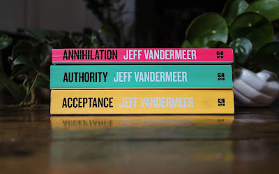 Image of the southern reach trilogy from typewriter teeth review