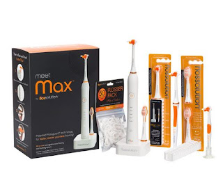 Max Flossolution teeth brushing technology