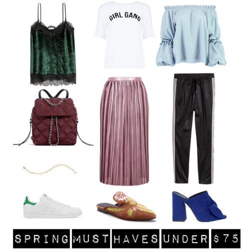 Spring 2017 Must Haves Under $75