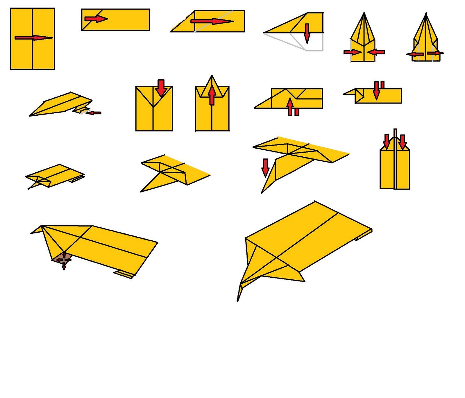 aviãozinho de papel que mais voa