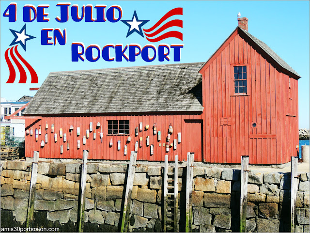 4 de Julio en Rockport, Cape Ann