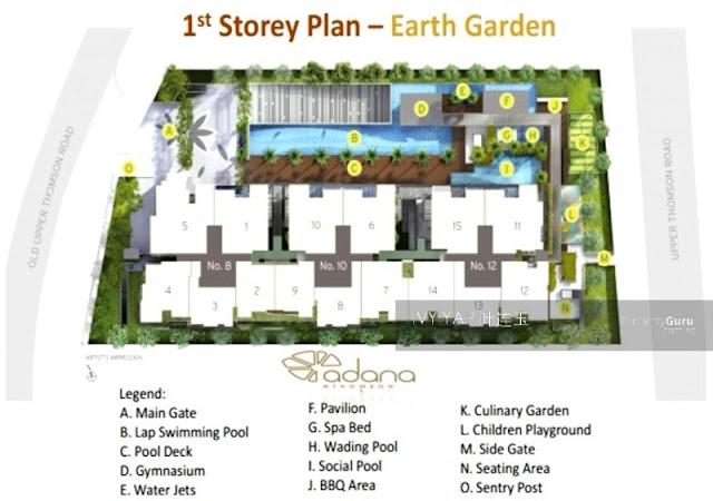 Adana @ Thomson 1st storey plan
