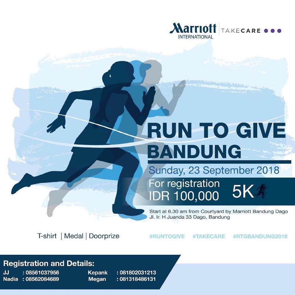 Run To Give Bandung • 2018
