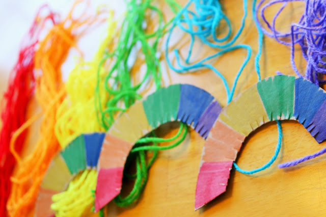fun rainbow craft