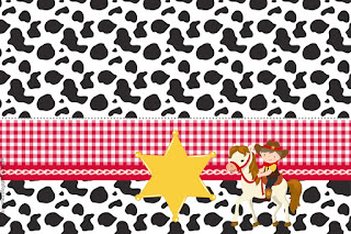Little Cowboy: Free Printable Invitations.