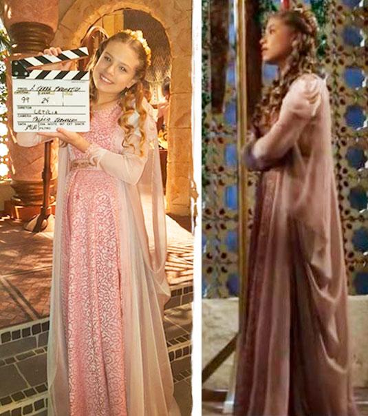 Princesa Ursula (Leticia Peroni) vestido
