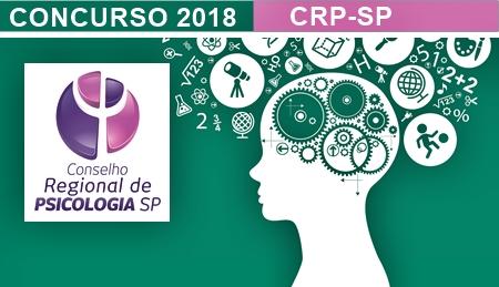 Concurso Conselho Regional de Psicologia do Estado de São Paulo - CRP-SP 2018