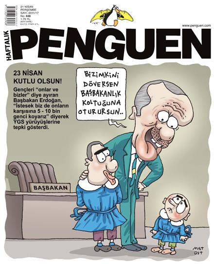 penguen 23 nisan 2011 kapak karikatürü