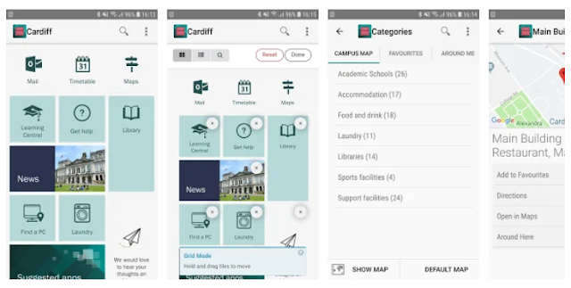 Cardiff University Official Students Mobile Apps