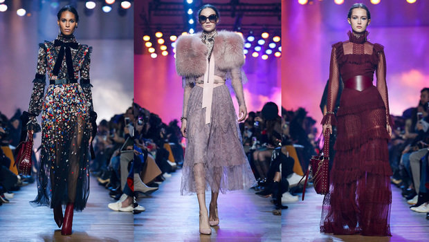 Elie Saab tops fashion shows for winter of 2019