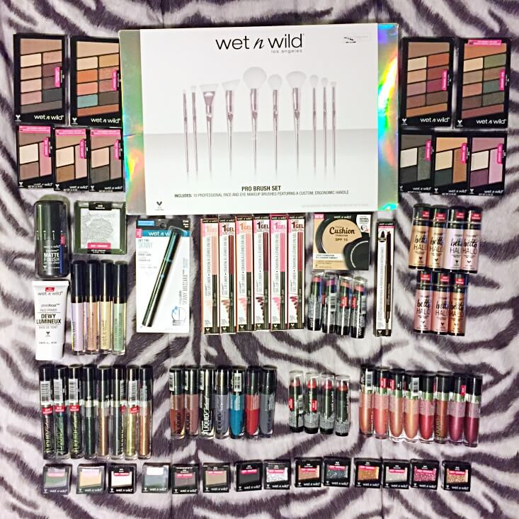 New wet n wild products 2018