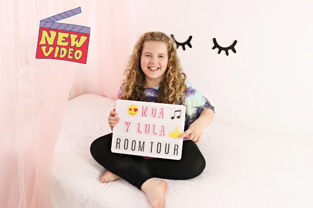 room tour blog infantil noa y lula con canal en youtube