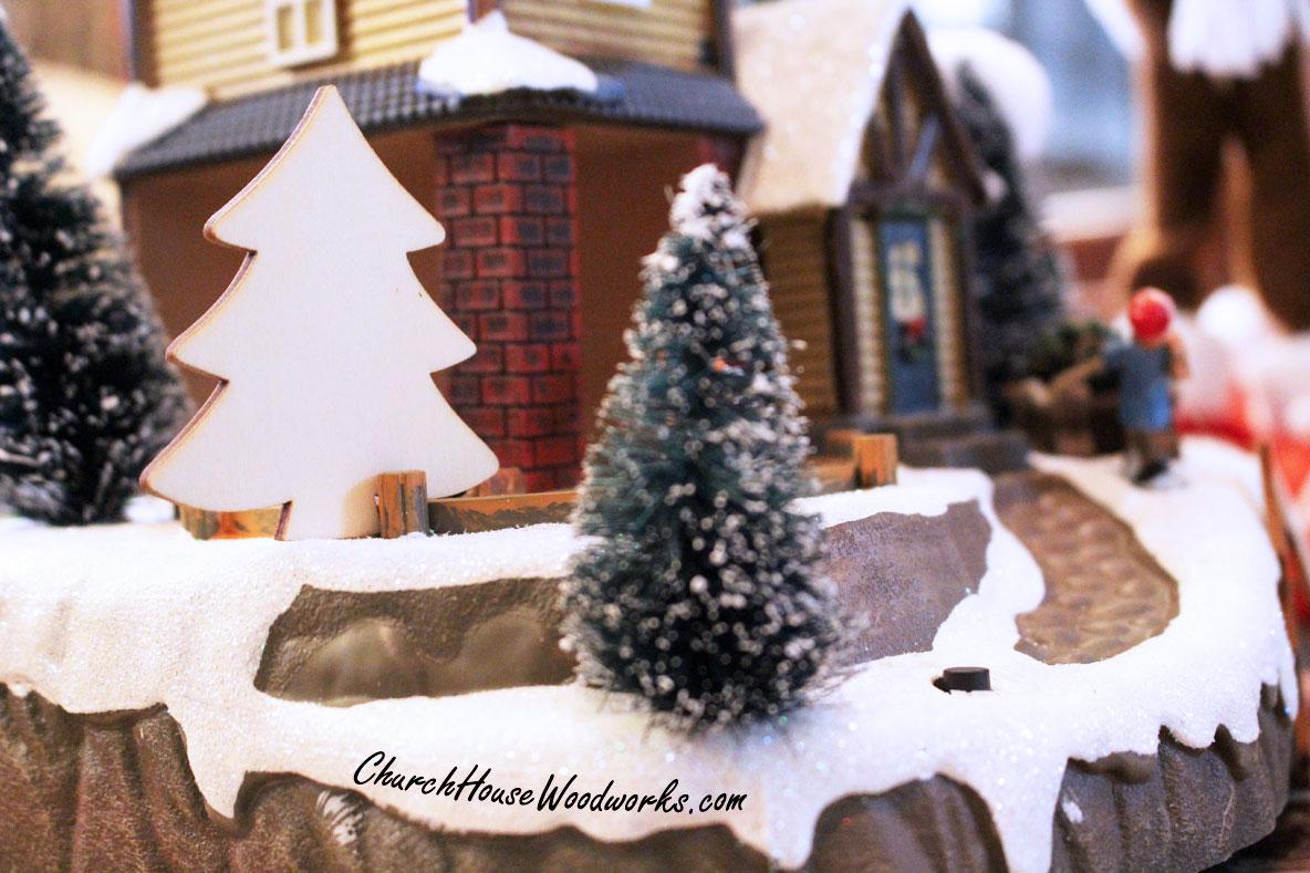 wooden christmas tree ornaments miniatures diy christmas. Black Bedroom Furniture Sets. Home Design Ideas
