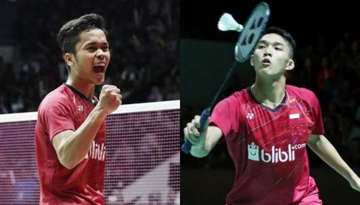 Anthony Ginting vs Jonatan Christie