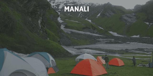Trekking tents for rent in Manali