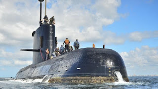 Argentina intensifies submarine search