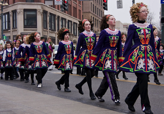 St. Patrick's Day Parade in the USA